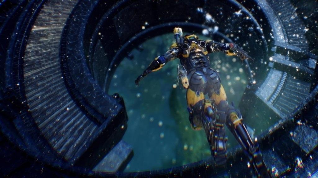Nejočekávanější hry v roce 2019; Anthem, screenshot: potápění