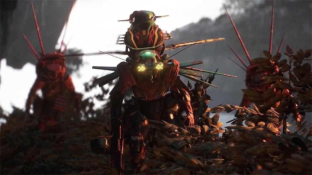 Anthem: screenshot, protivníci
