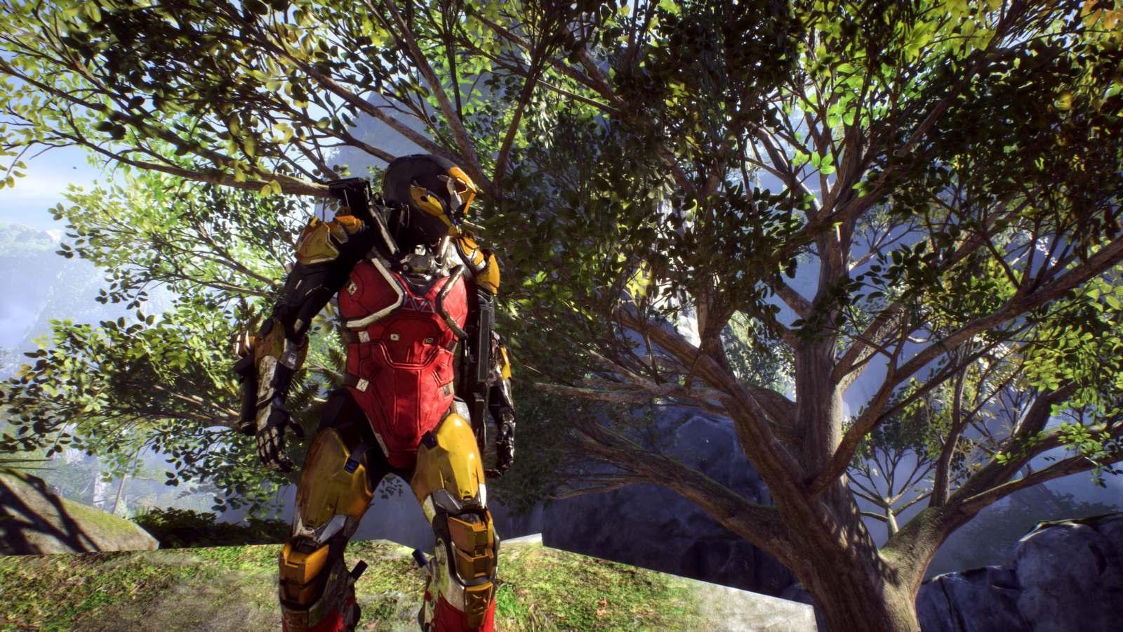 Anthem; gameplay: Ranger