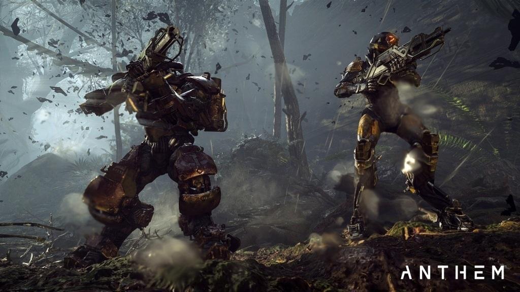 Nejočekávanější hry v roce 2019; Anthem, screenshot: souboj