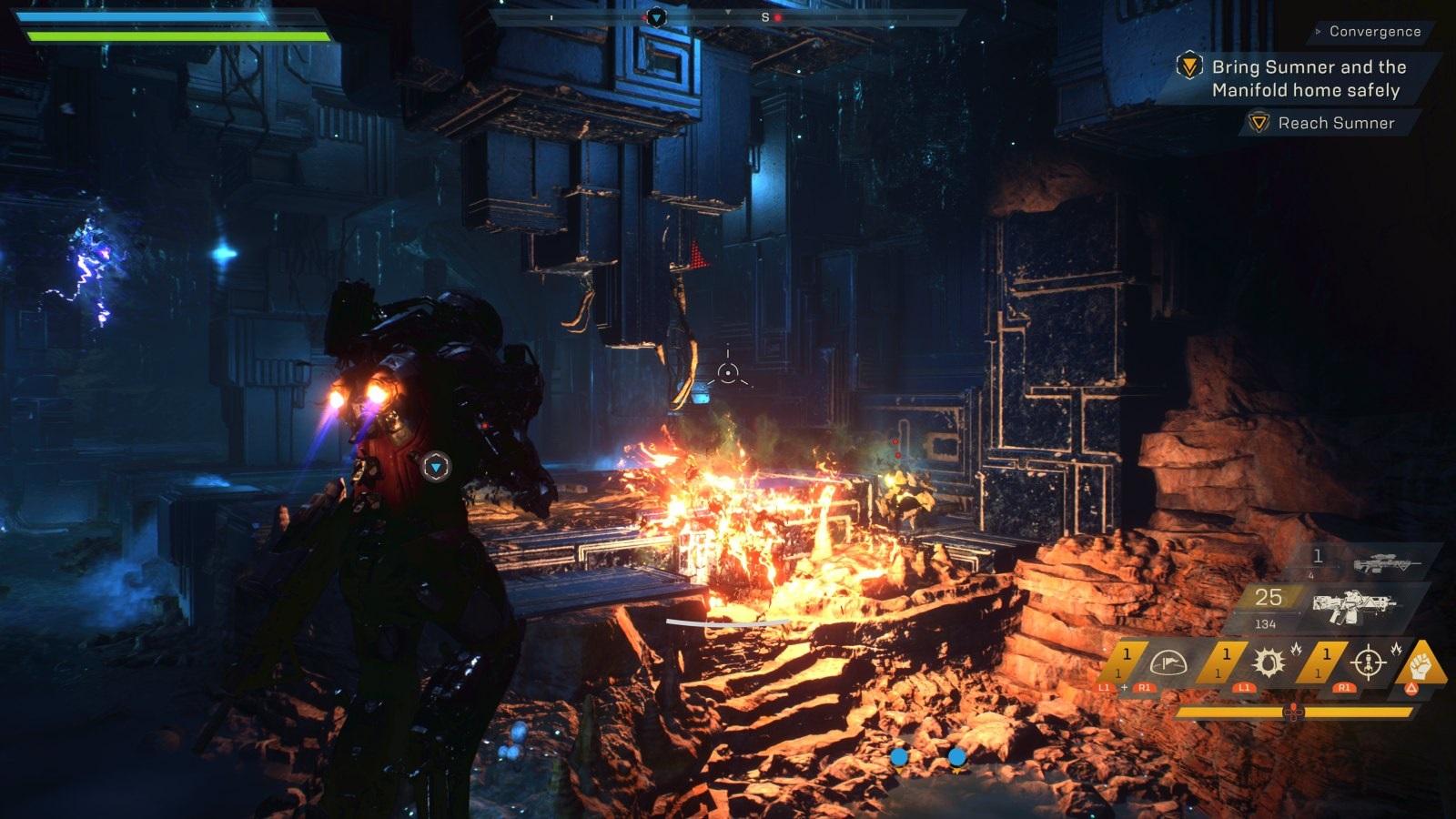 Anthem; gameplay: Storm