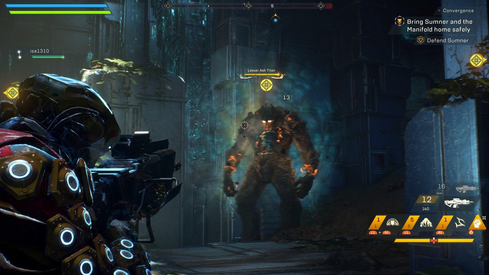 Anthem; gameplay: střelba