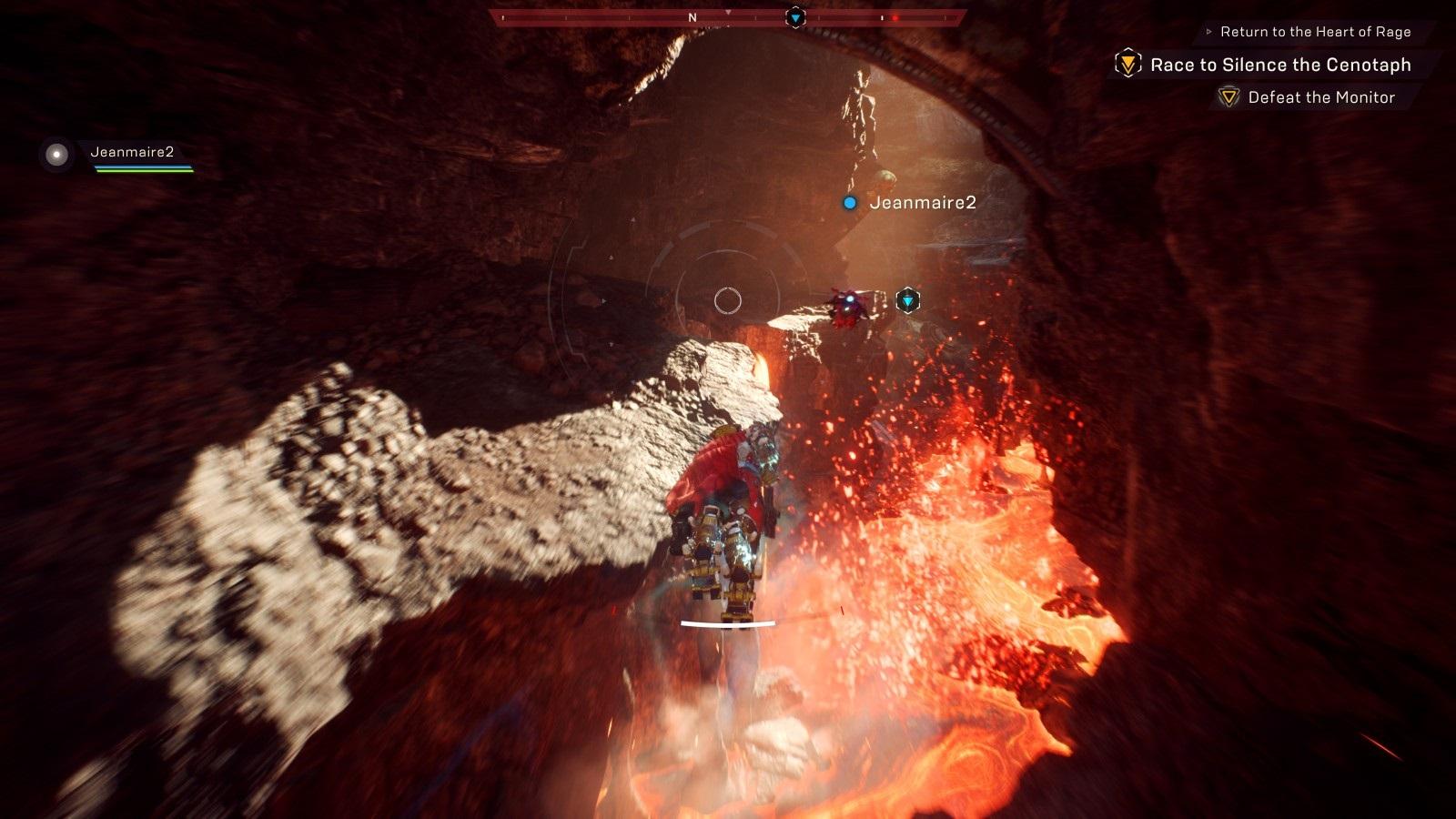 Anthem; gameplay: stronghold