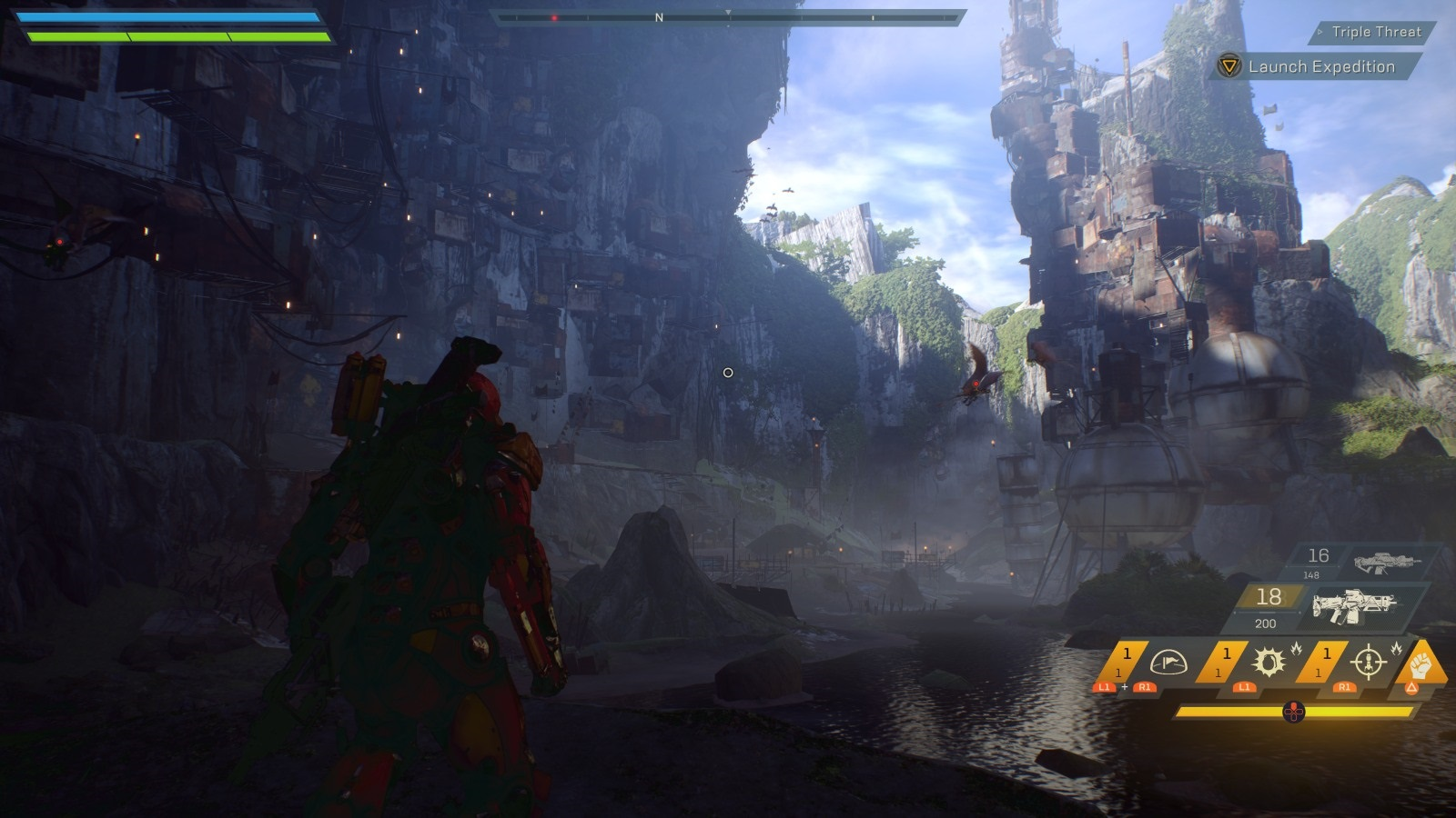 Anthem; gameplay: svět