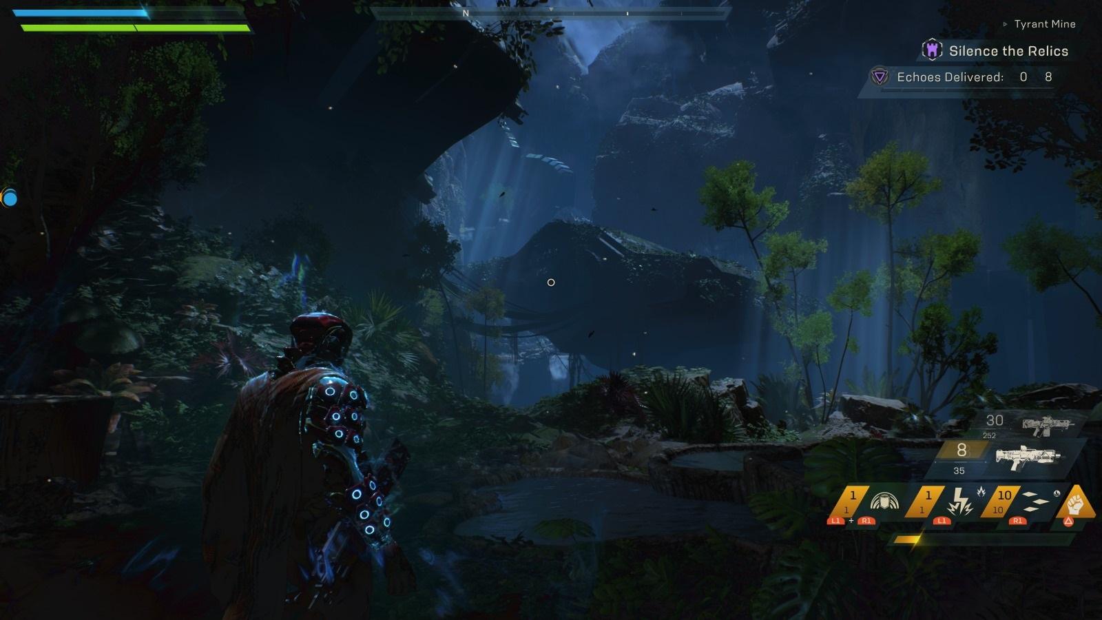 Anthem; gameplay: údolí