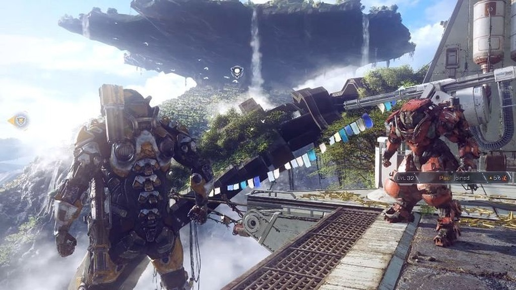 Anthem; gameplay: vizuál