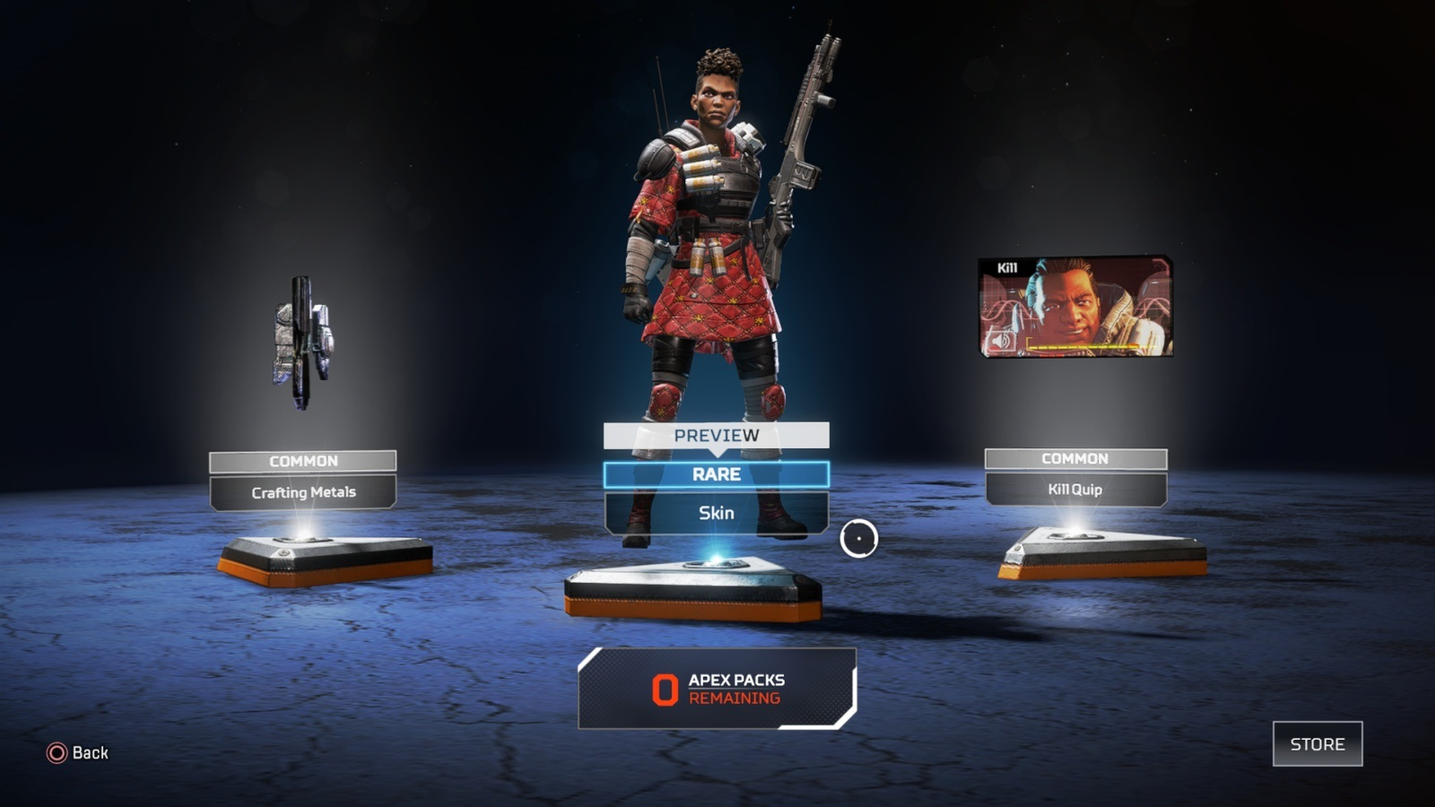 Apex Legends; gameplay: kosmetika