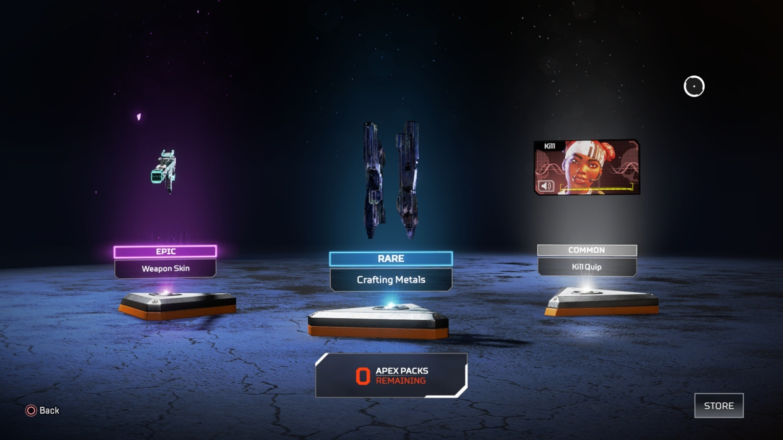 Apex Legends; gameplay: loot boxy