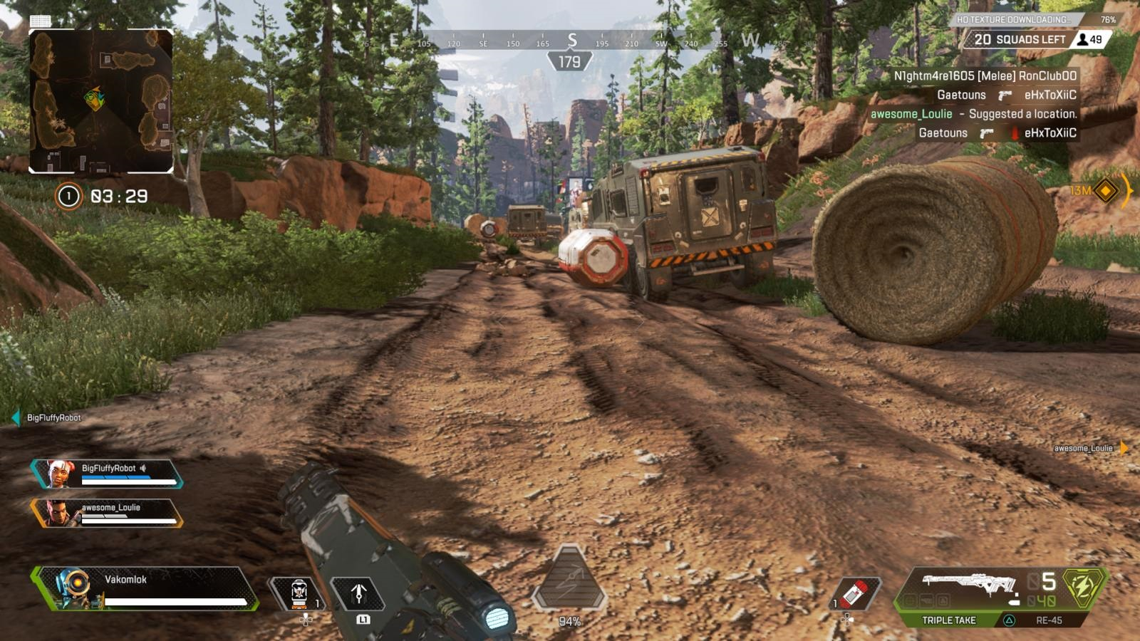 Apex Legends; gameplay: mapa