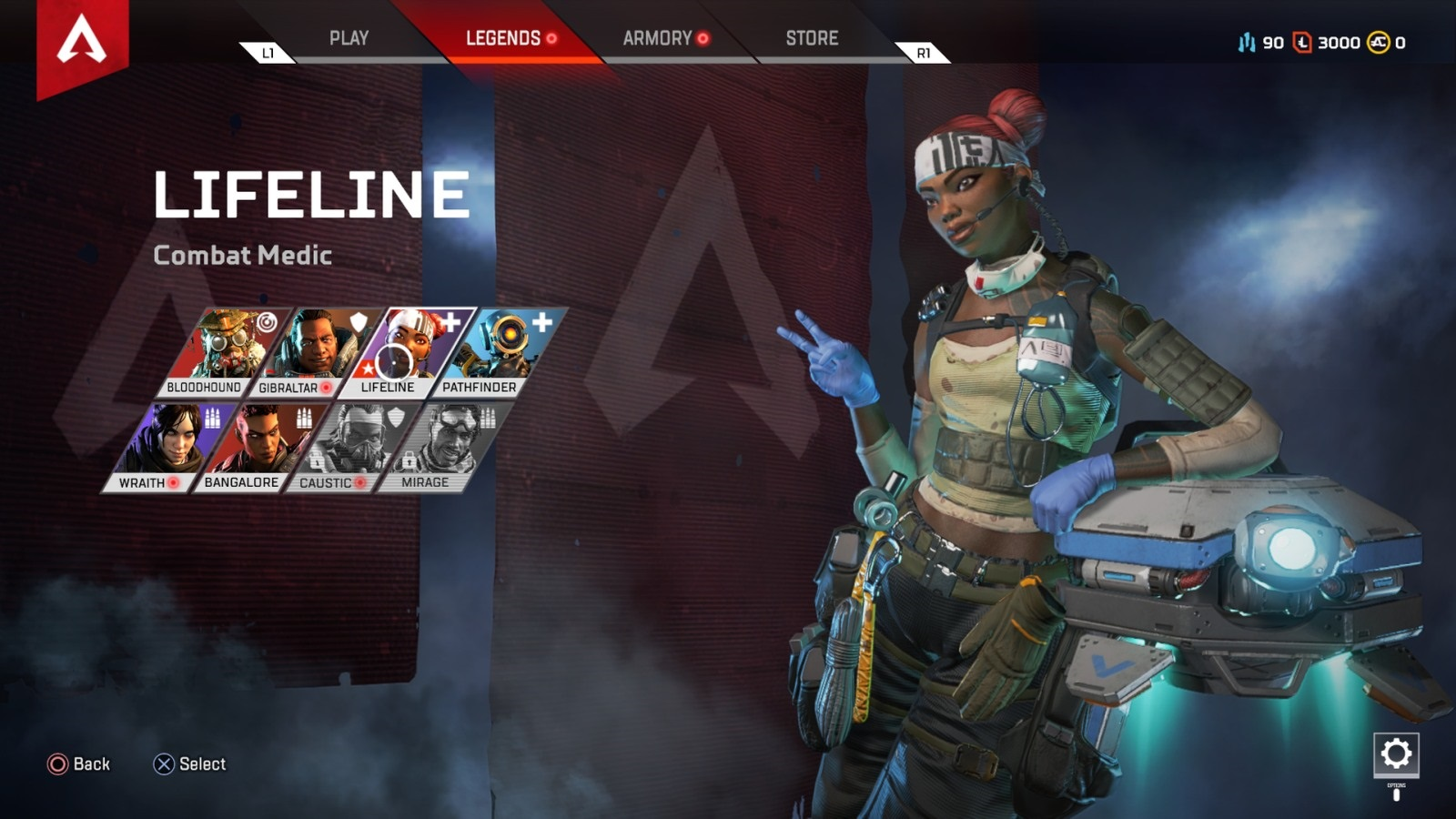 Apex Legends; gameplay: Lifeline