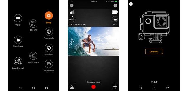 Aplikace ke kameře