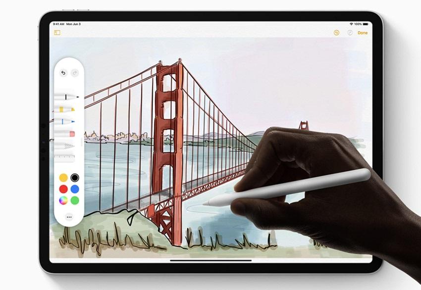 iPadOS a Apple Pencil