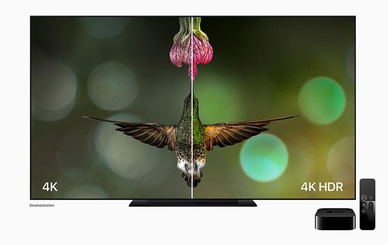 Apple TV; 4K, HDR