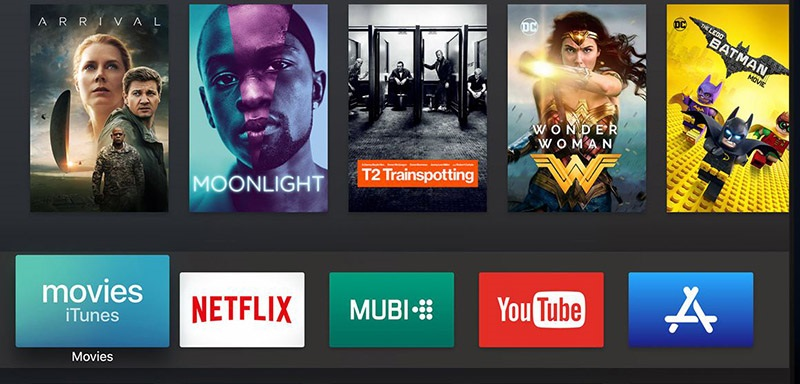 Apple TV; filmy