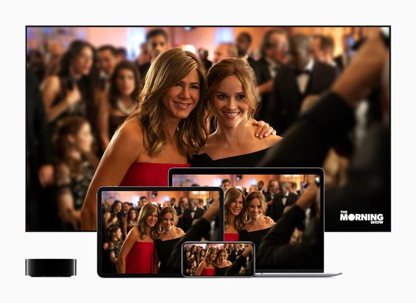 Apple TV+, zařízení