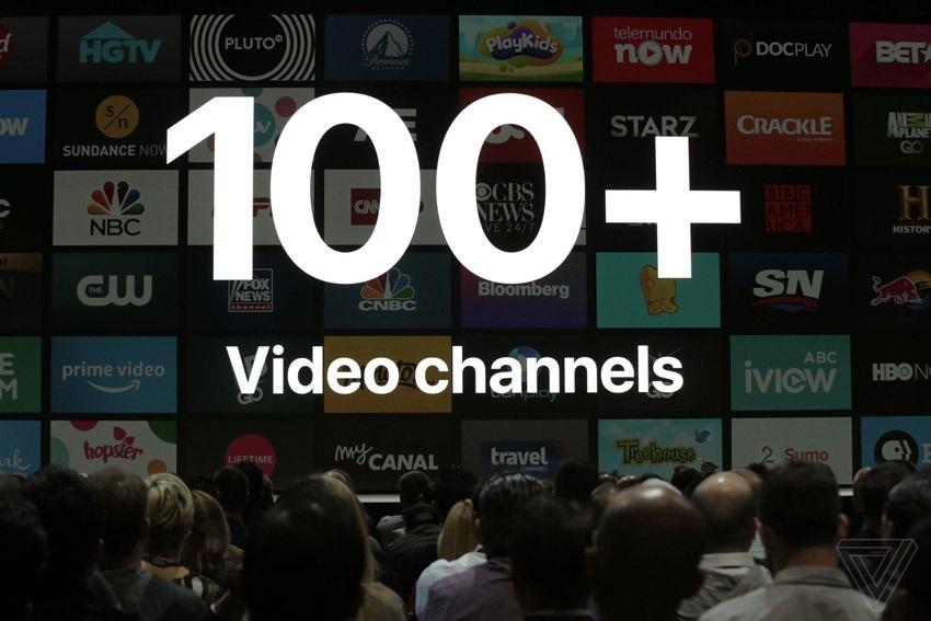 Apple TV 4K, TV programy