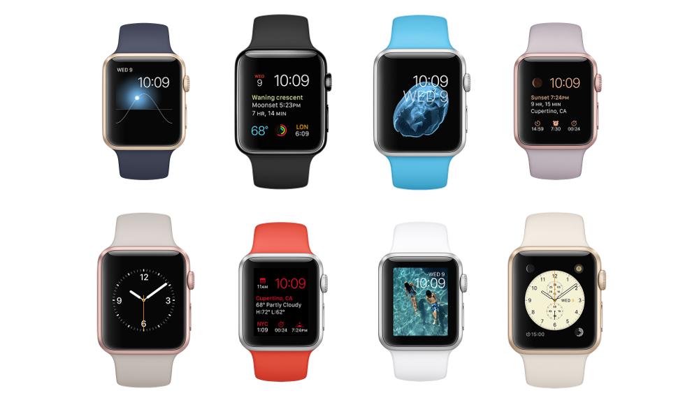 Apple Watch, Apple Watch Sport, barevné vyměnitelné řemínky