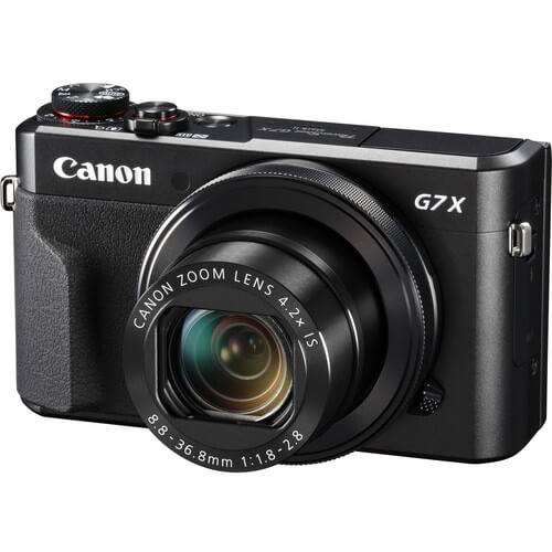 profesionální kompakt Canon PowerShot G7 X Mark II