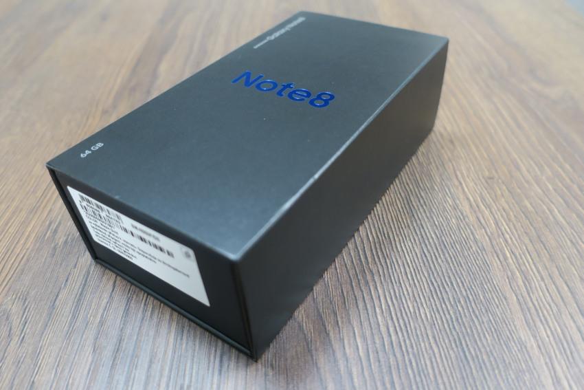 Krabička Samsung Galaxy Note8