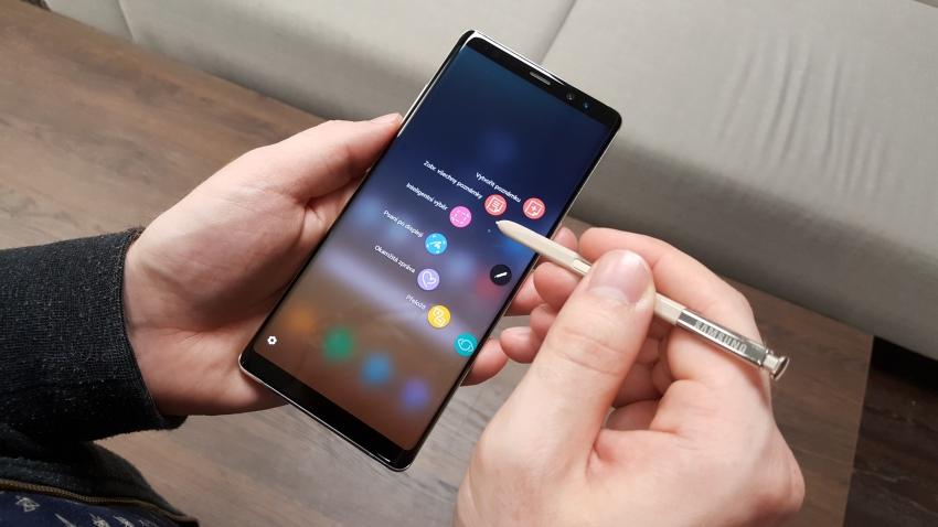 Samsung Galaxy Note8 a dotykové pero S Pen v praxi
