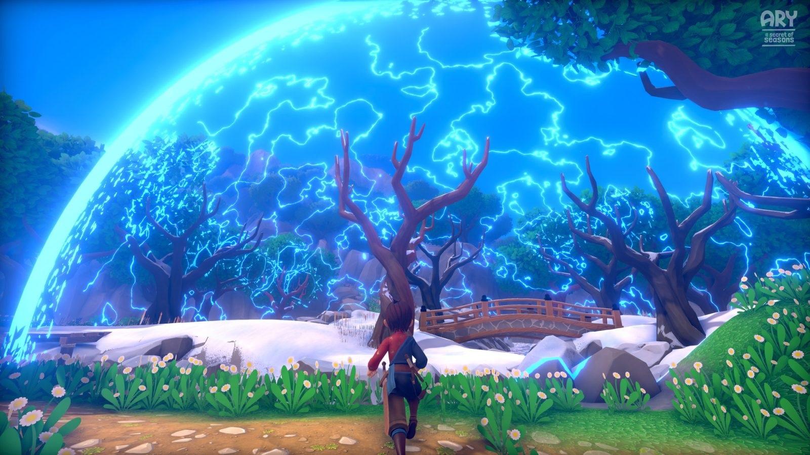 Ary and the Secret of Seasons; wallpaper: zima