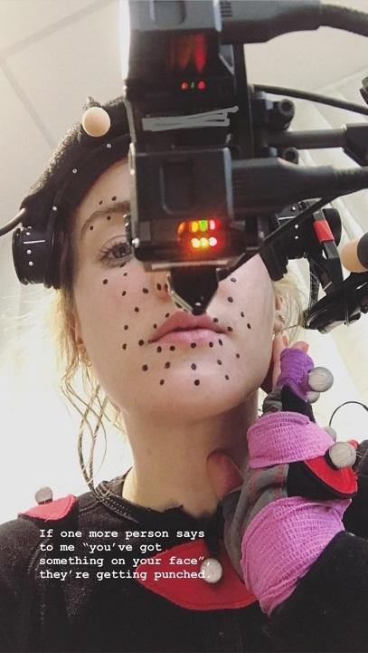 The Last of Us Part 2; Ashley Johnson motion capture