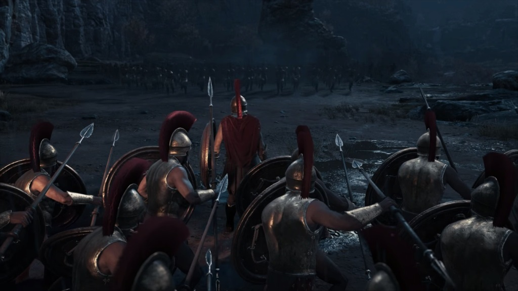 Assassin´s Creed Odyssey; gameplay: 300