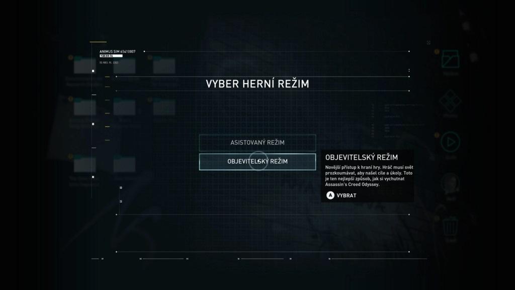 Assassin´s Creed Odyssey; screenshot: Asistovaný/objevitelský režim