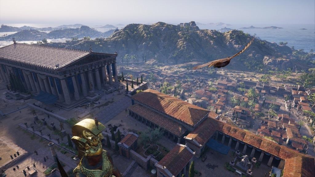 Assassin´s Creed Odyssey; gameplay: Athény