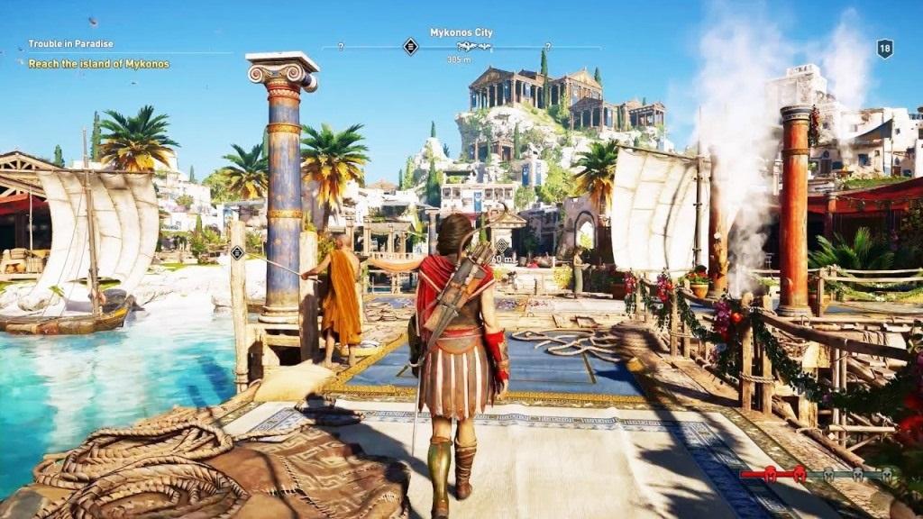 Assassin's Creed Odyssey; screenshot: Cassandra