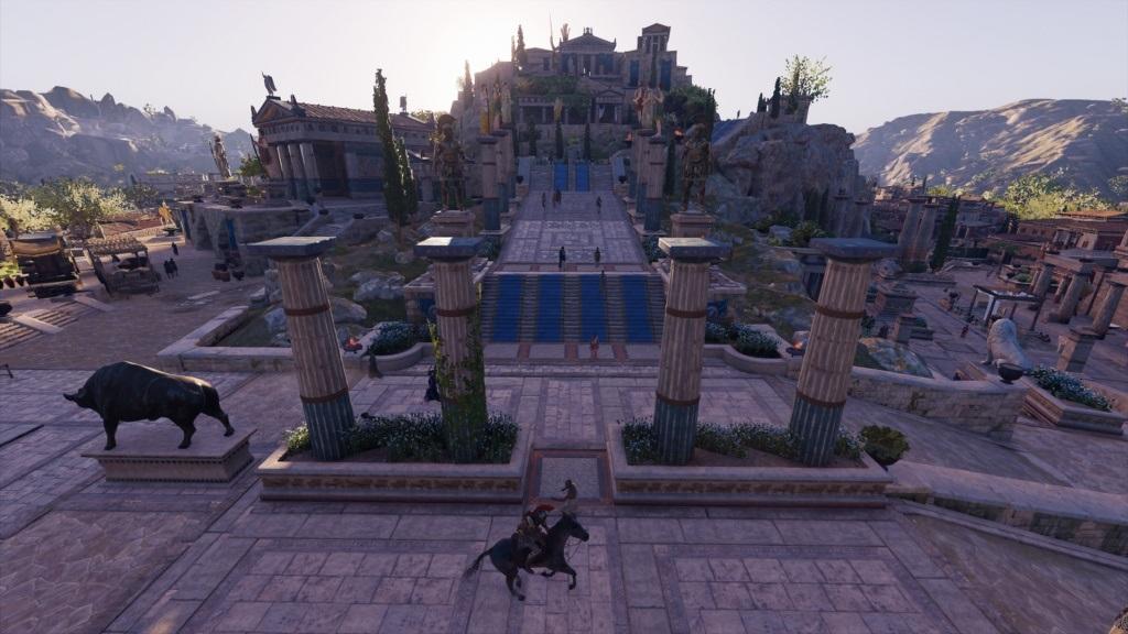 Assassin´s Creed Odyssey; gameplay: chrám
