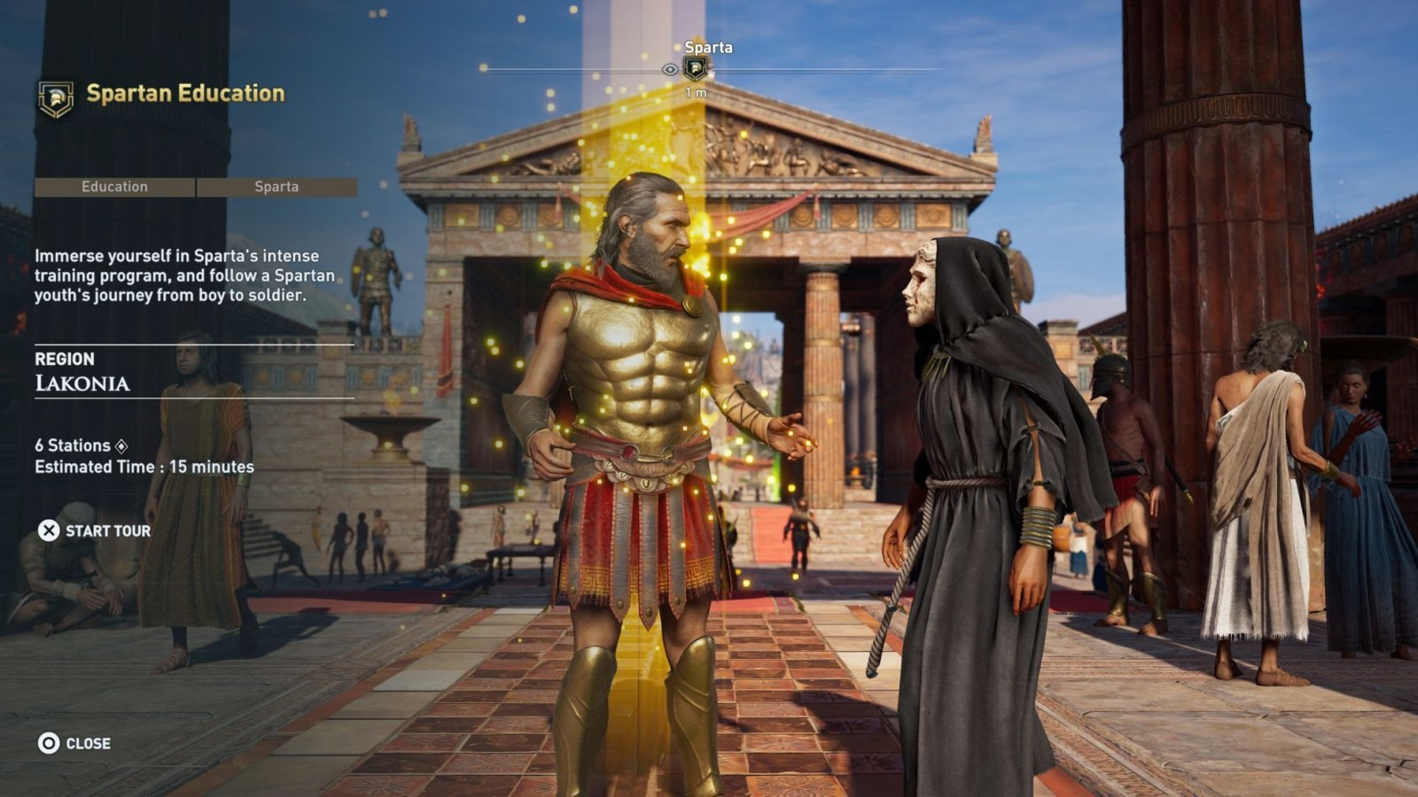 Assassin's Creed Odyssey; screenshot: Discovery tour