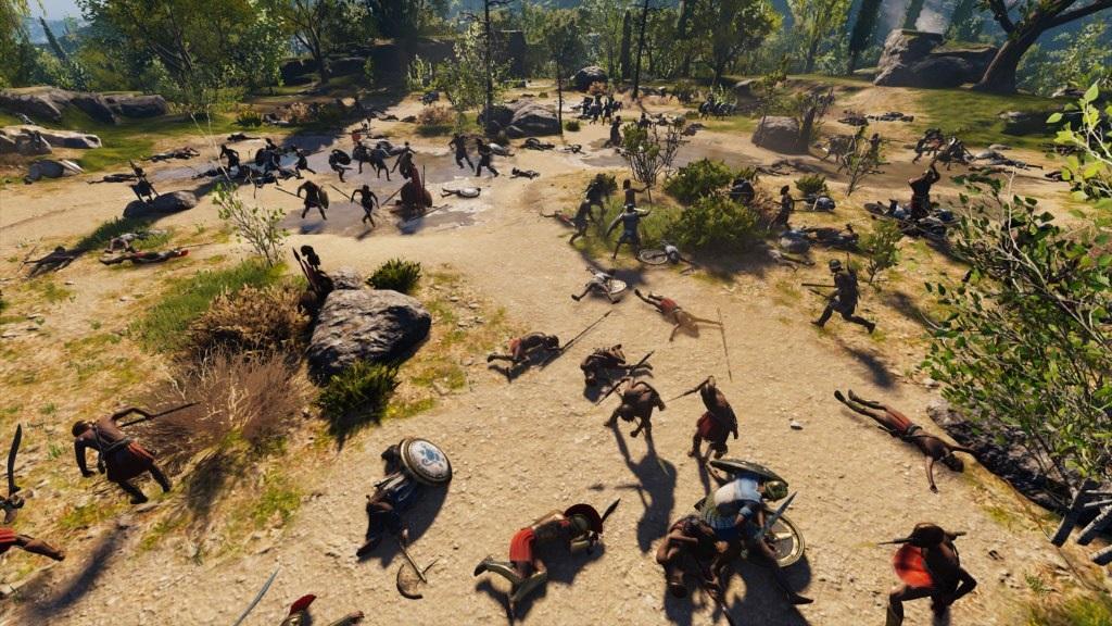 Assassin's Creed Odyssey; gameplay: dobývací bitva