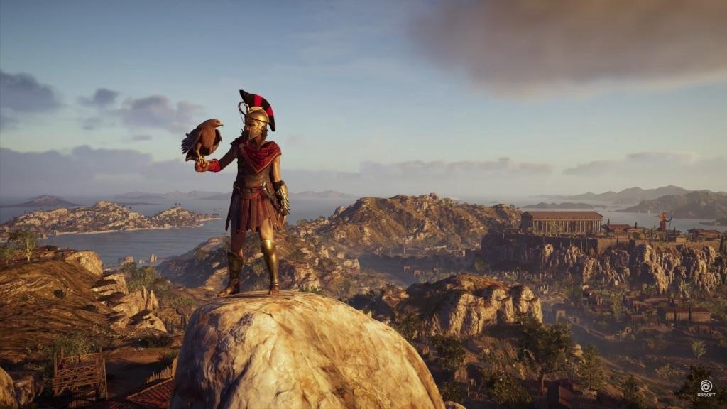 Assassin's Creed Odyssey; screenshot: eagle vision