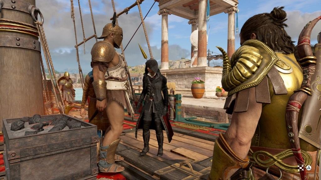 Assassin's Creed Odyssey; screenshot: Eve Frey