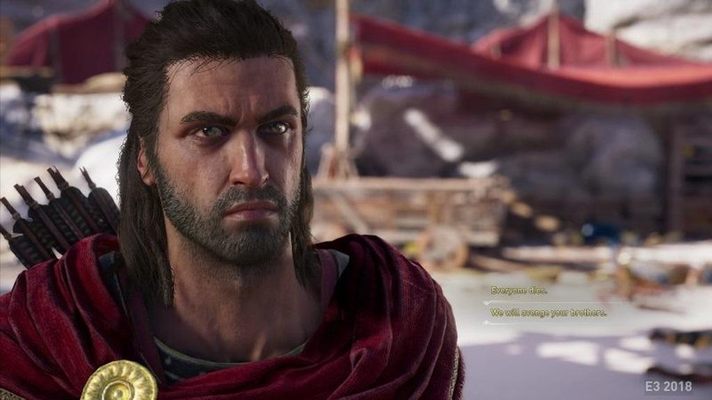 Assassin´s Creed: Odyssey; screenshot: hlavní postava