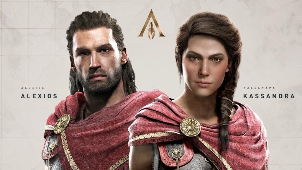 Assassin's Creed Odyssey; screenshot: hlavní postavy