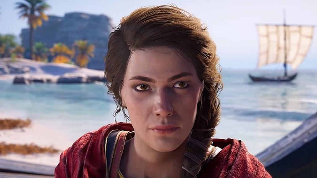 Assassin's Creed Odyssey; screenshot: Kassandra
