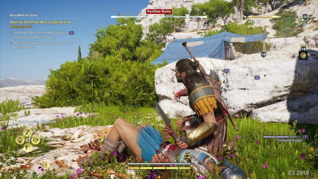 Assassin's Creed Odyssey; screenshot: kopí
