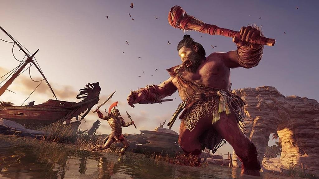 Assassin's Creed Odyssey; screenshot: kyklop