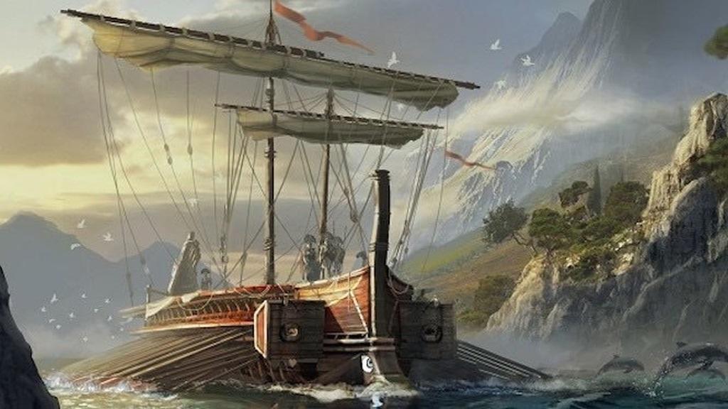 Assassin's Creed Odyssey; screenshot: lodě