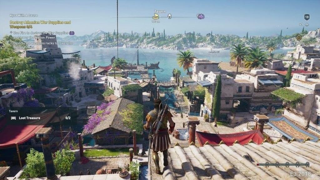 Assassin´s Creed: Odyssey; screenshot: město