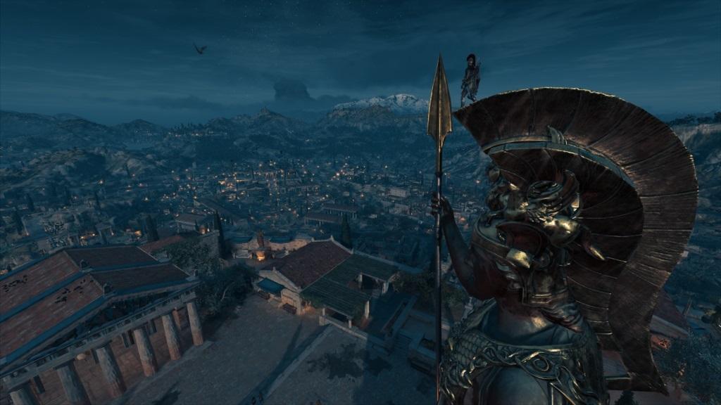 Assassin´s Creed Odyssey; gameplay: město