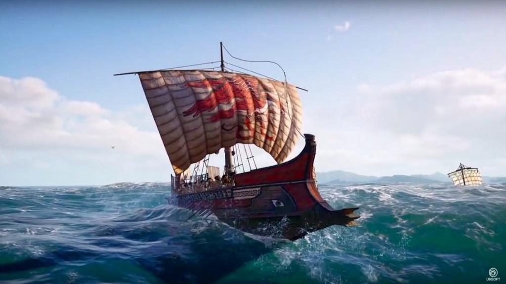 Assassin´s Creed: Odyssey; screenshot: námořní bitvy
