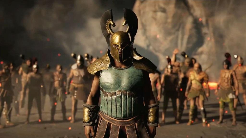 Assassin's Creed Odyssey; screenshot: nepřítel