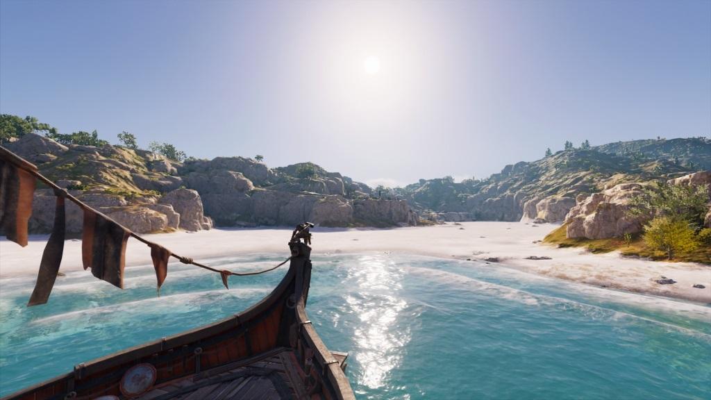 Assassin´s Creed Odyssey; gameplay: pláž