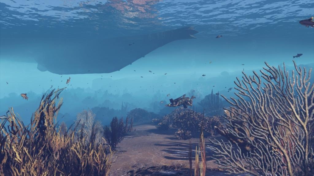 Assassin´s Creed Odyssey; gameplay: potápění
