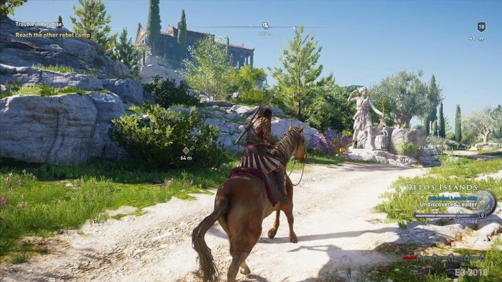 Assassin´s Creed: Odyssey; screenshot: Řecko