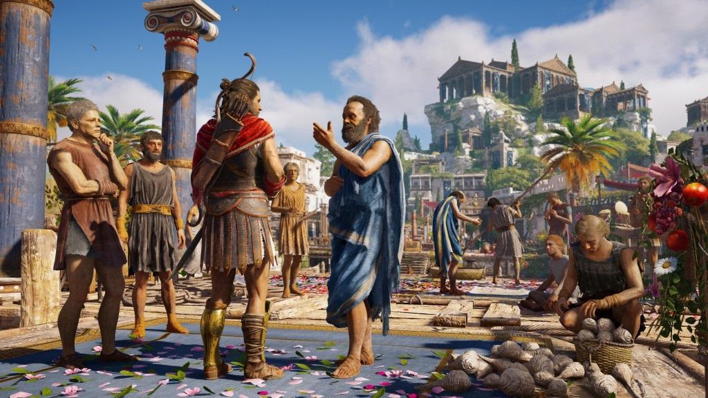 Assassin's Creed Odyssey; screenshot: Řecko