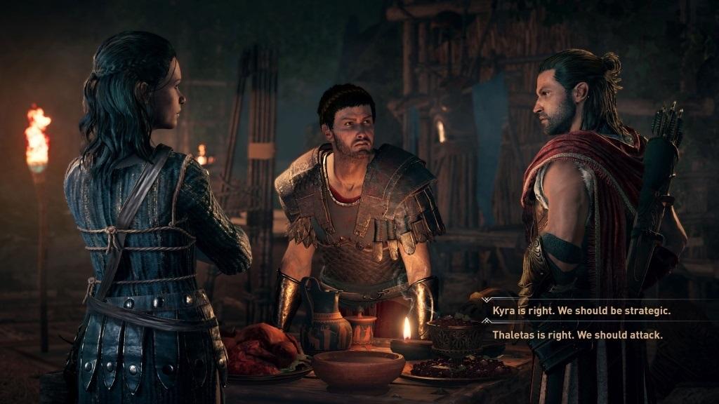 Nejočekávanější hry v říjnu 2018; Assassin's Creed Odyssey, screenshot: rozhovory